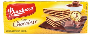 BISCOITO BAUDUCO WAFER CHOCOLATE 140G